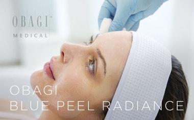 obagi blue peel radiance skin treatments